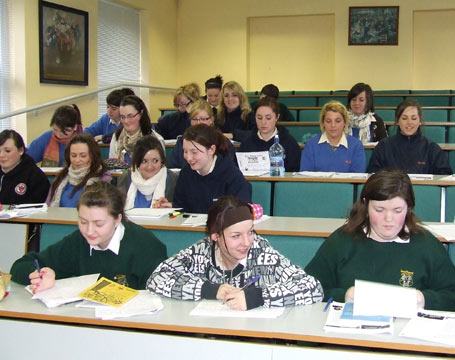Access Schools Programme at St Angela's College, Sligo helps students with Irish Orals