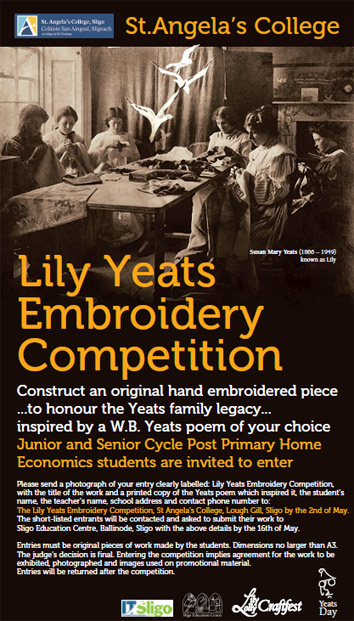 Lilly Yeats Embroidery Competition