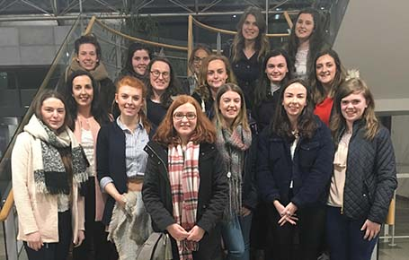 NUI Galway host 4th Year Economic students for an Economics Study Day