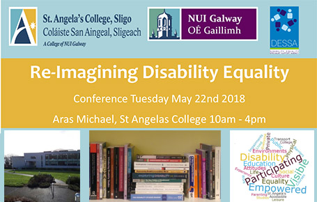 Registration is now open for the Re-Imagining Disability Equality Conference 2018
