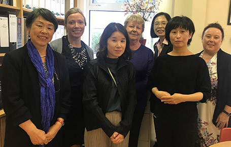 St. Angela's College Education Department Welcomes Delegates From Japan
