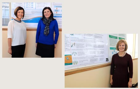 Nursing, Health Science and Disability Studies lecturers present posters at Sligo University Hospital, Research & Education Foundation, 19th Annual Research Conference