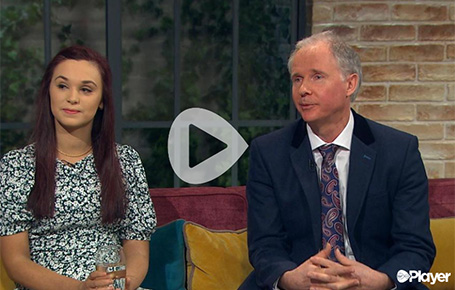 Access Student Interviewed on National TV About Eating Disorders